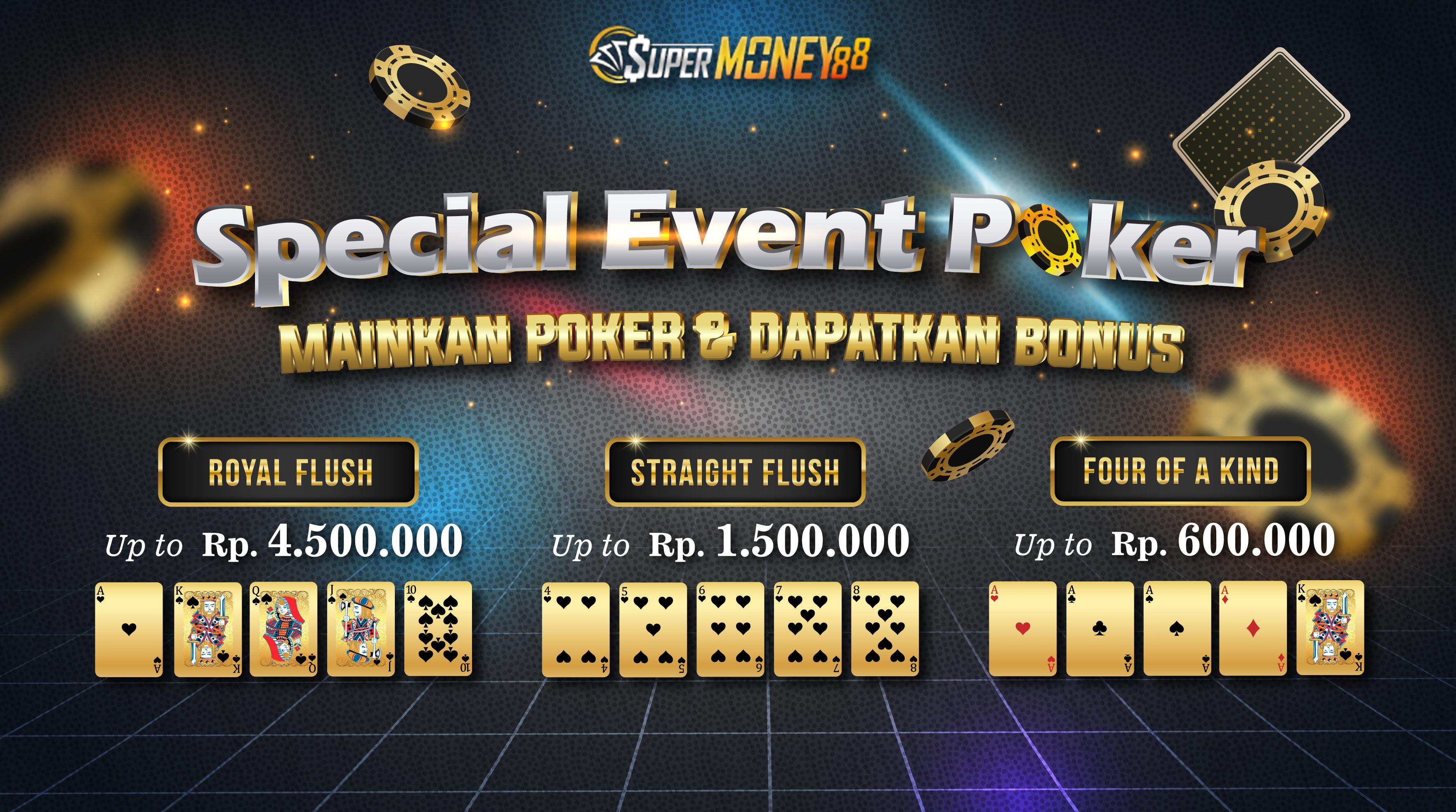 event poker supermoney 88